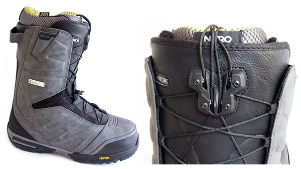 Twin Lacing System (TLS) Quick Lacing Snowboard Boot